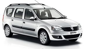 Dacia Logan 7 Seats or Similar
